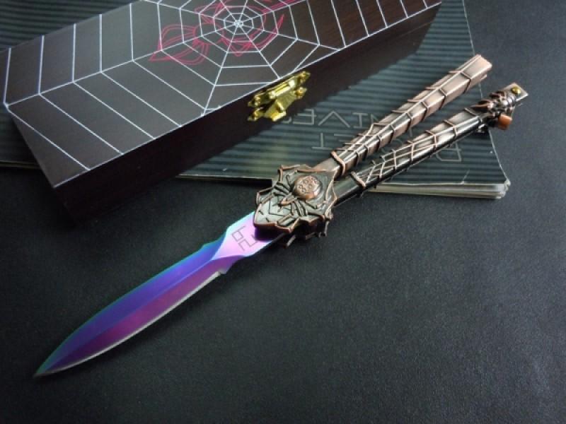 фото бабочка ножик